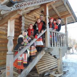 Russische Folklore groep RADOVES