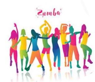 zumba, dansende mensen