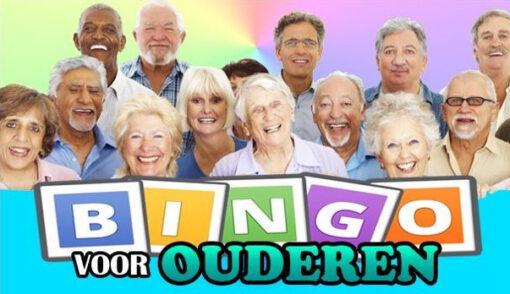 senioren met Bingo tekst